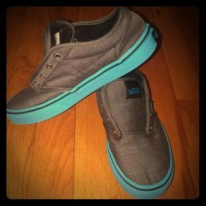Other - Vans Blue Gray Sneakers